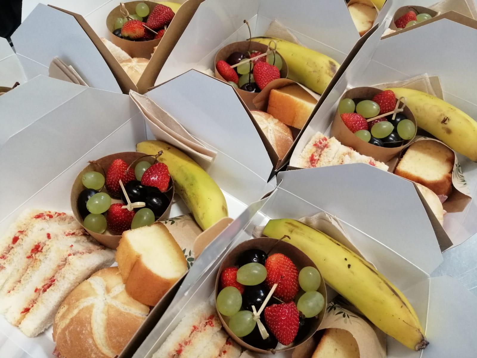 Caja individual de desayunos